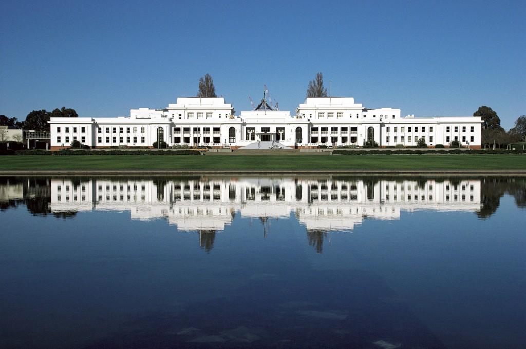 Historia de Australia: foto del antiguo Parlamento