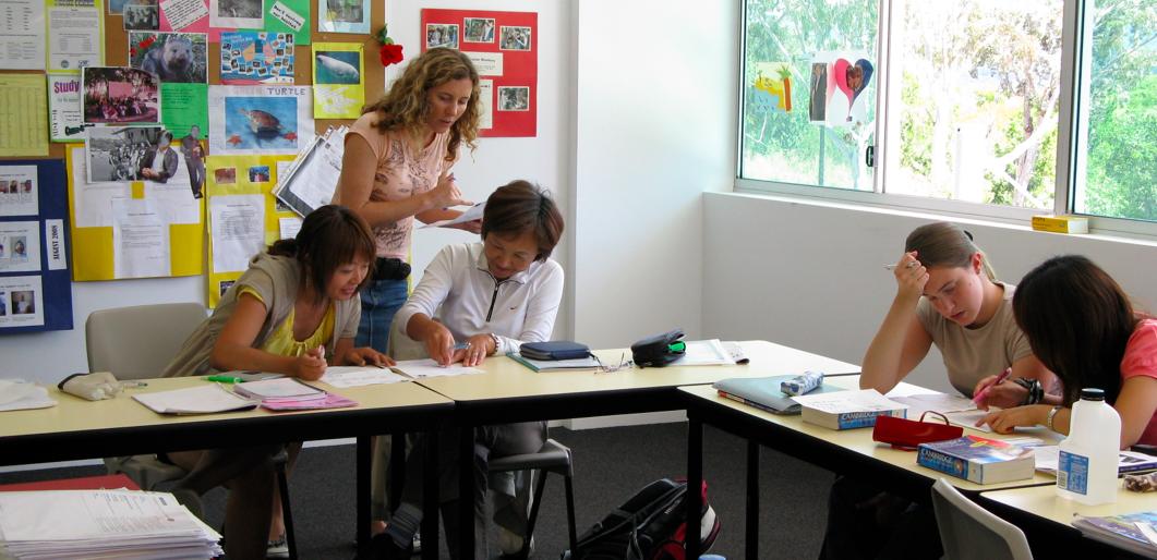 Precios de los cursos de inglees en Australia (clase de inglés en Australia)