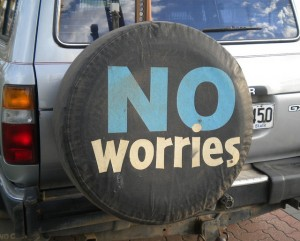 No worries en Australia