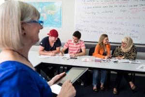 Estudiantes de inglés en Australia (Embassy Gold Coast)