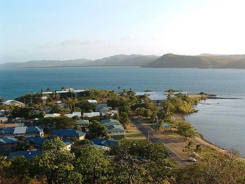 Imagen de Thursday Island, la isla donde vive y trabaja Mark
