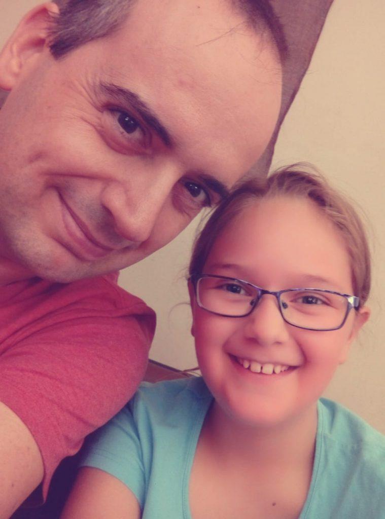 Visados regionales de Australia: foto de Mark y su hija Ainhoa